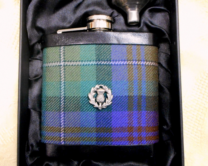 isle-of-skye-tartan-hip-flask-with-scottish-thistle