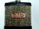 gift-for-dad-harris-tweed-hip flask-father-fathers day gift-personalised