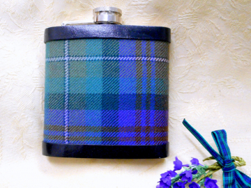 Isle-of=Skye-tartan-hip-flask-scottish-gift