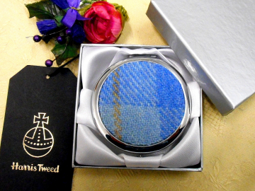 blue-harris-tweed-compact=mirror