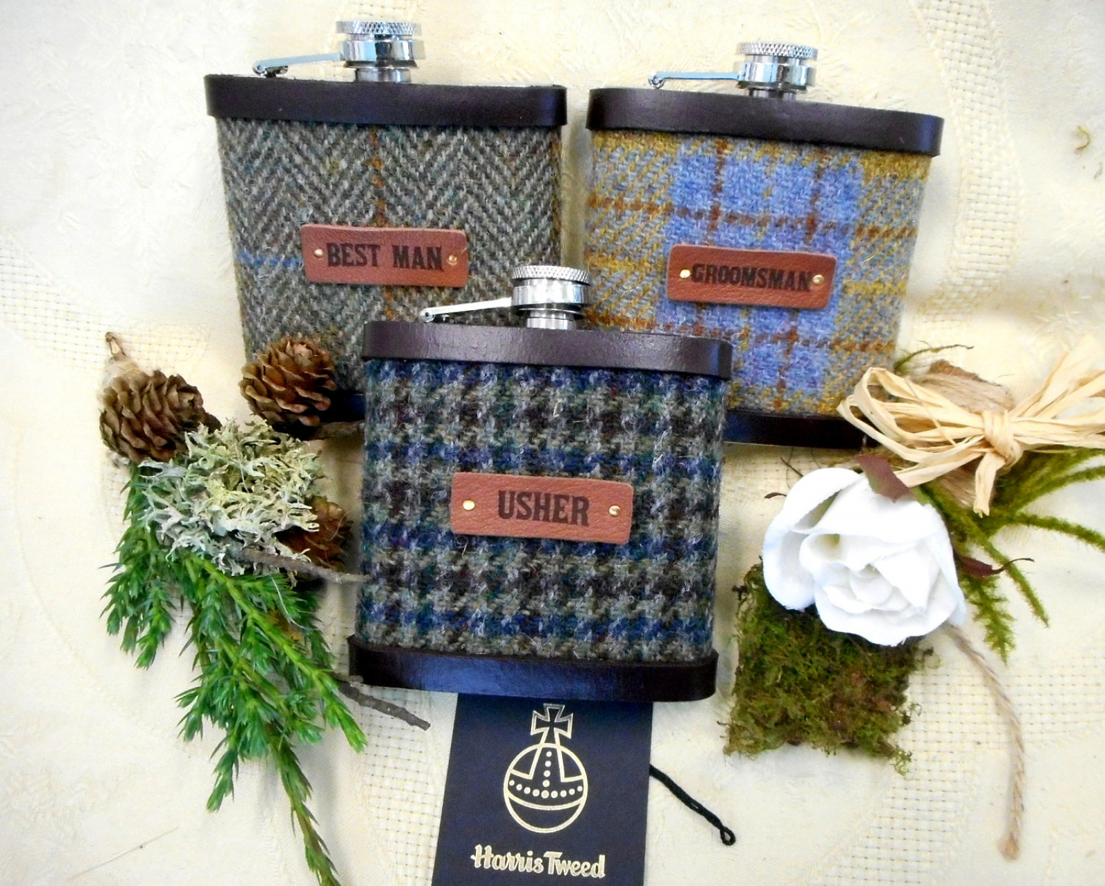 Scottish Wedding Gifts: Rustic , Woodland Or Barn Scottish Wedding Gifts, Harris