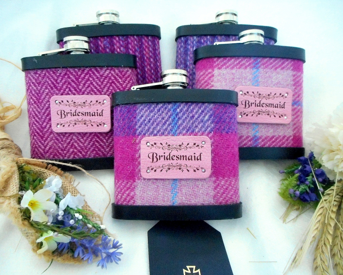 Set of five Bridesmaid's gifts