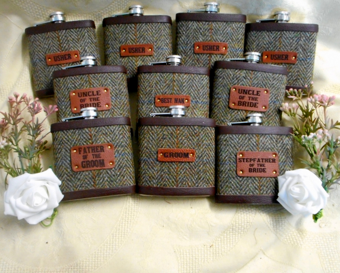 Set of ten in Mossy Glade tweed