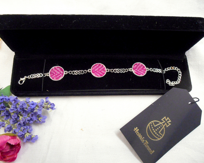 Pink Bridesmaid's bracelet